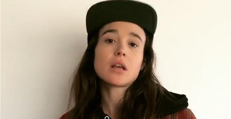 Conhecido até então como Ellen Page, o artista também é bem famoso por seu papel em 'Juno'