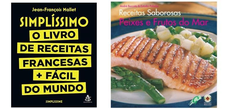 Selecionamos livros de receitas para preparar refeições incríveis