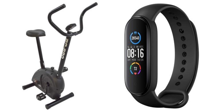 Smartwatch, corda e bicicleta profissionais para cuidar da sua saúde