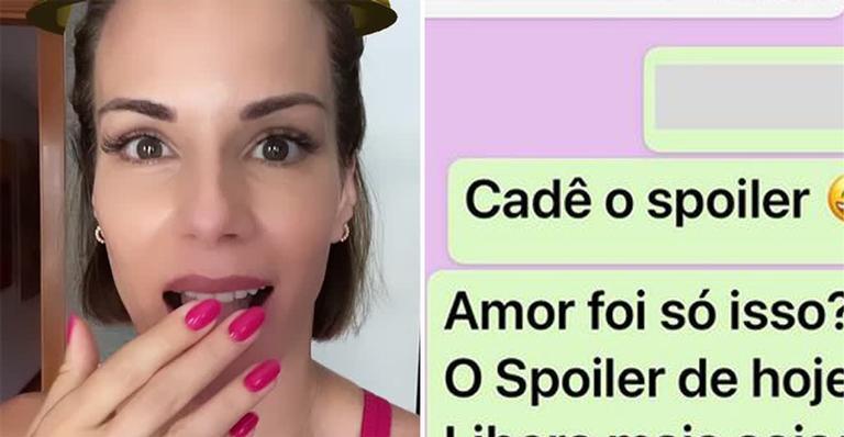 Ana Furtado pede spoiler do BBB 21 para Boninho, mas é 'ignorada': ''Não me respondeu''