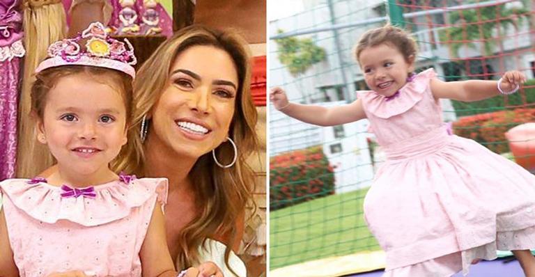 Nas redes, a apresentadora mostrou detalhes da festa de aniversário de sua filha e se declarou: