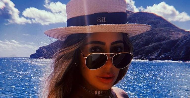 Poderosa! De férias em ilha paradisíaca, irmã de Neymar Jr. arrasa em registro para as redes sociais