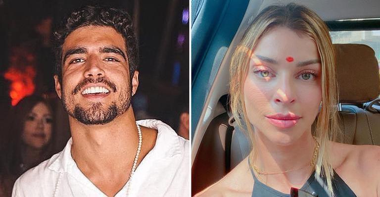 A publicação da atriz aconteceu após fãs notarem que as fotos do casal sumiram de seu perfil nas redes sociais