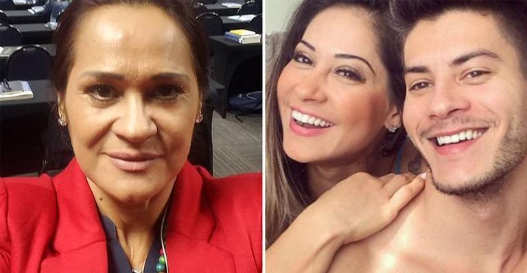 Nas redes, Vandha Ramos disse que ama a filha