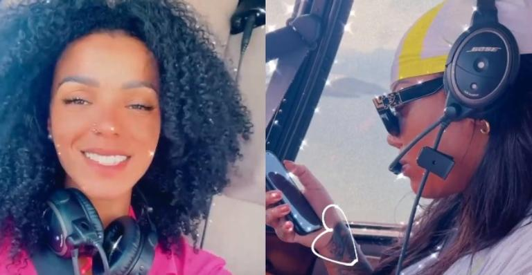 Nas redes sociais, Brunna Gonçalves mostra momento luxuoso ao lado da cantora