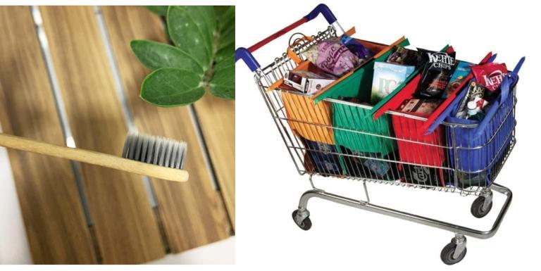 Canudos de aço, tampas de silicone e outros itens para um modo de vida mais ecológico