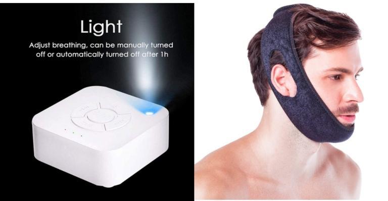 Máscara para dormir, travesseiro cervical e outros itens para noites mais tranquilas