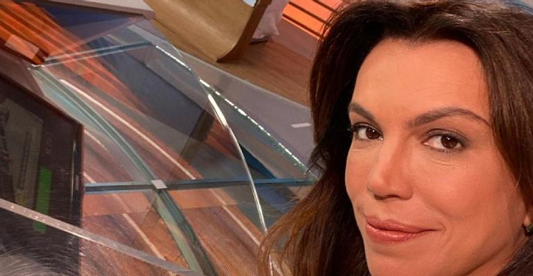 Apresentadora do 'Bom Dia Brasil' celebrou retorno e agradeceu mensagens após perder o pai