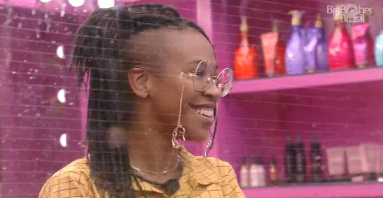 Em conversa com Gil, cantora diz que público não pode deixá-la permanecer na casa