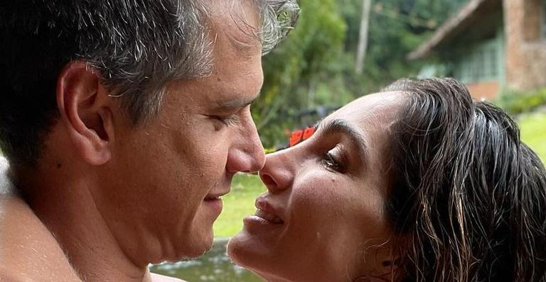 Nas redes, ele comemorou a data com homenagem comovente com direito a uma linda declaração de amor